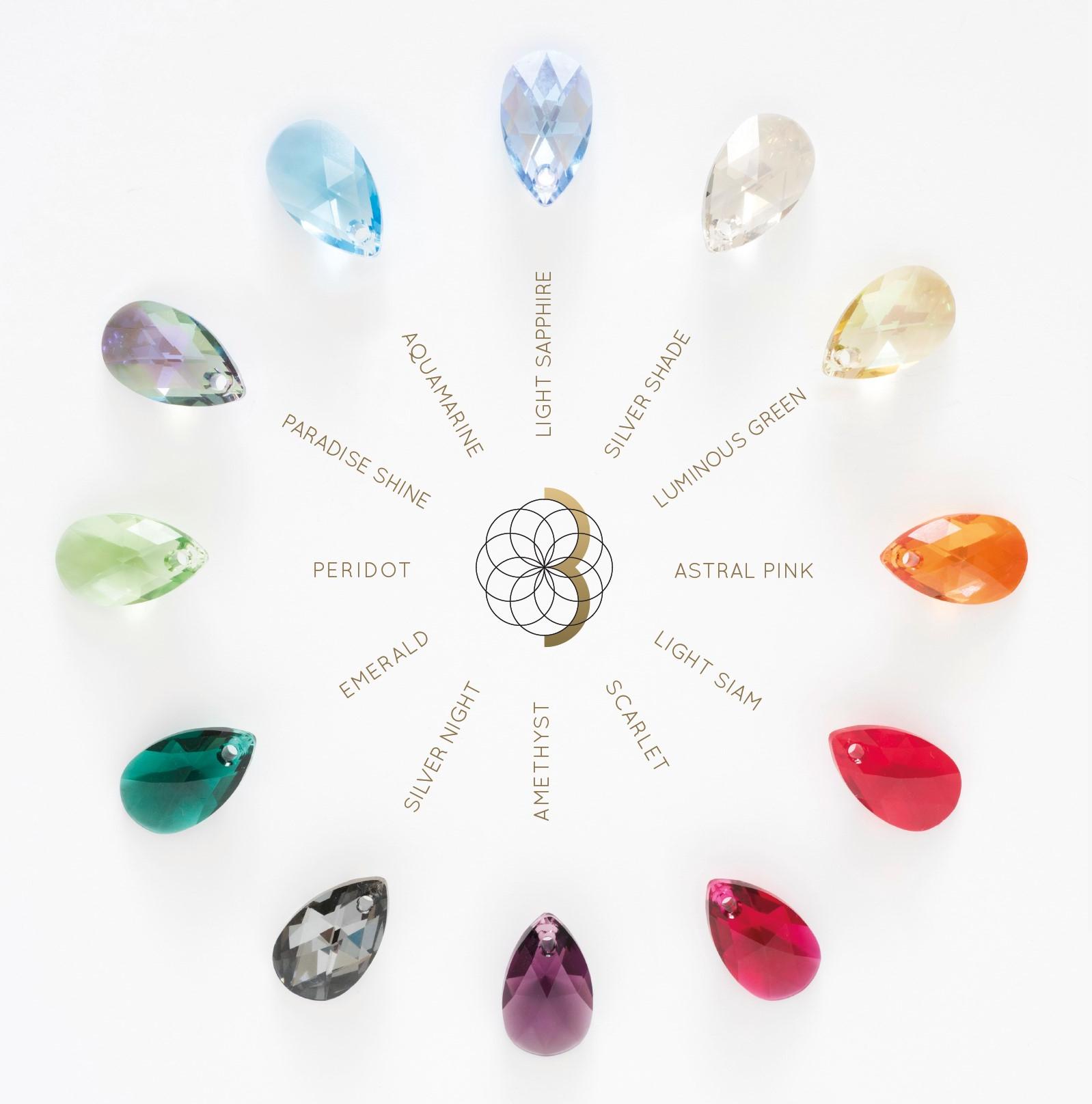 nuancier cristaux swaroski